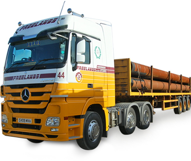 Freelands artic lorry