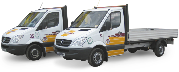 Transits for local or hot shot deliveries
